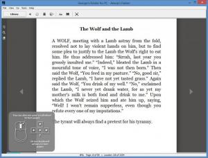 Enlarge Kindle Screenshot