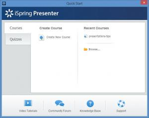 Enlarge iSpring Presenter Screenshot