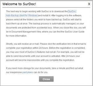 Enlarge SurDoc Desktop Screenshot