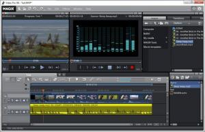 Enlarge MAGIX Video Pro Screenshot