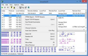 Enlarge SmartSniff Screenshot