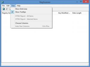 Enlarge RegScanner Screenshot