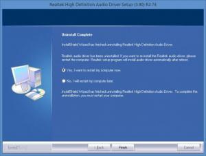 Enlarge Realtek High Definition Audio Screenshot