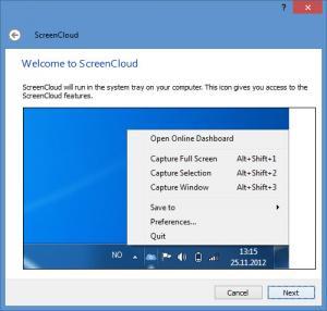 Enlarge ScreenCloud Screenshot