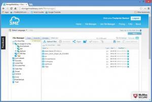 Enlarge SME Cloud Explorer Screenshot