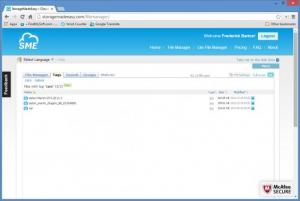 Enlarge SME Cloud Explorer Screenshot