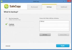 Enlarge SafeCopy Screenshot