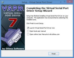 Enlarge Virtual Serial Port Driver Screenshot