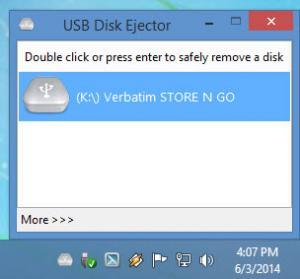 Enlarge USB Disk Ejector Screenshot