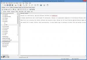 Enlarge Bluefish Screenshot
