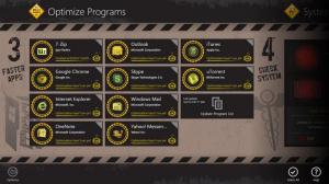 Enlarge Auslogics Disk Defrag Touch Screenshot