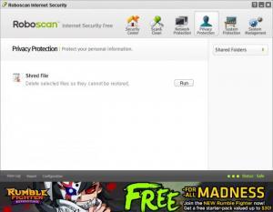 Enlarge Roboscan Internet Security Screenshot
