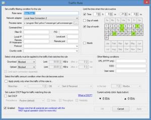 Enlarge NetBalancer Screenshot