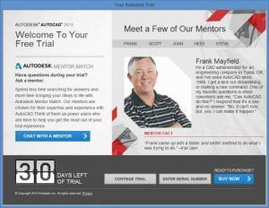 Enlarge AutoCAD Screenshot
