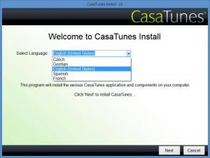 Enlarge CasaTunes Screenshot
