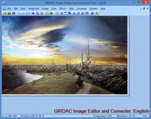 Enlarge GIRDAC Image Editor and Converter Screenshot