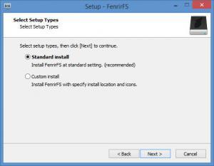 Enlarge FenrirFS Screenshot