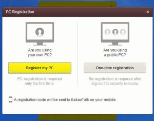 Enlarge KakaoTalk Screenshot