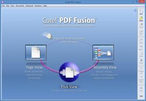 Enlarge Corel PDF Fusion Screenshot