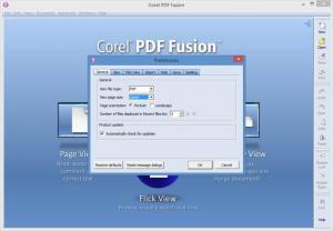 Enlarge Corel PDF Fusion Screenshot