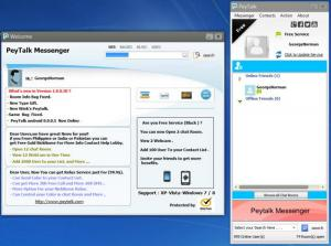 Enlarge Peytalk Messenger Screenshot