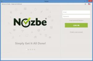 Enlarge Nozbe Screenshot