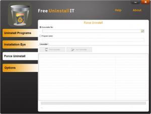 Enlarge Free Uninstall It Screenshot