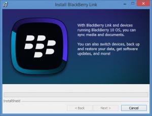 Enlarge BlackBerry Link Screenshot