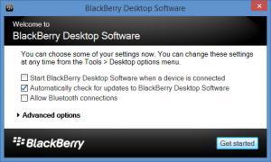 Enlarge BlackBerry Desktop Software Screenshot