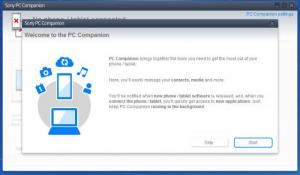 Enlarge Sony PC Companion Screenshot