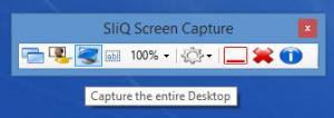 Enlarge SliQ Screen Capture Screenshot