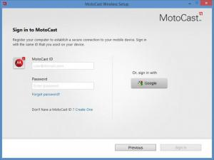 Enlarge MotoCast Screenshot