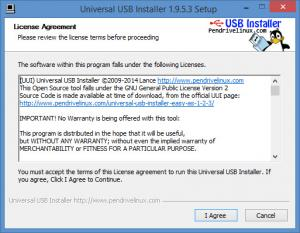 Enlarge Universal USB Installer Screenshot