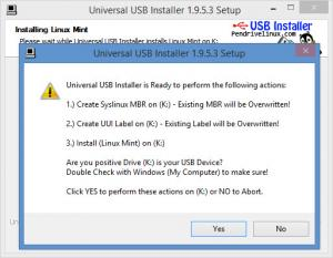 Enlarge Universal USB Installer Screenshot