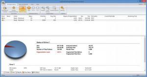 Enlarge Laplink Defrag Screenshot