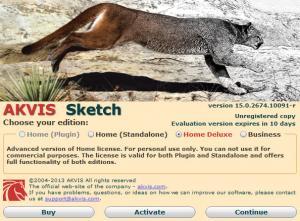 Enlarge AKVIS Sketch Screenshot