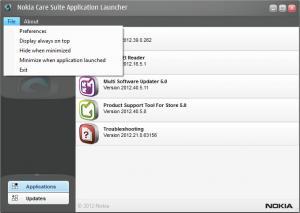 Enlarge Nokia Care Suite Screenshot