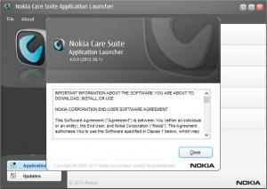 Enlarge Nokia Care Suite Screenshot