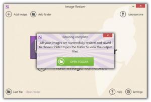 Enlarge IceCream Image Resizer Screenshot