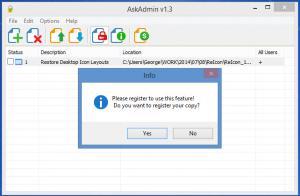Enlarge AskAdmin Screenshot