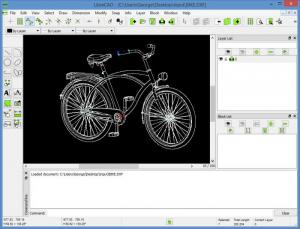 Enlarge LibreCAD Screenshot