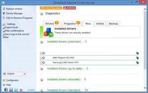 Enlarge DriverPack Solution Screenshot