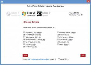 Enlarge DriverPack Solution Screenshot
