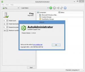 Enlarge AutoAdministrator Screenshot
