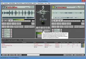 Enlarge Zulu DJ Software Screenshot