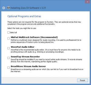 Enlarge Zulu DJ Software Screenshot