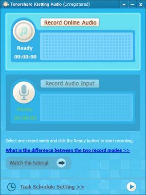 Enlarge Tenorshare iGetting Audio Screenshot