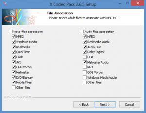 Enlarge X Codec Pack Screenshot