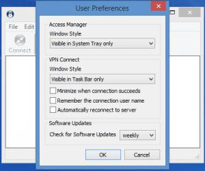 Enlarge Shrew Soft VPN Client Screenshot