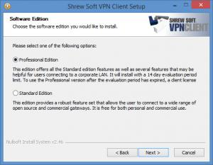 Enlarge Shrew Soft VPN Client Screenshot